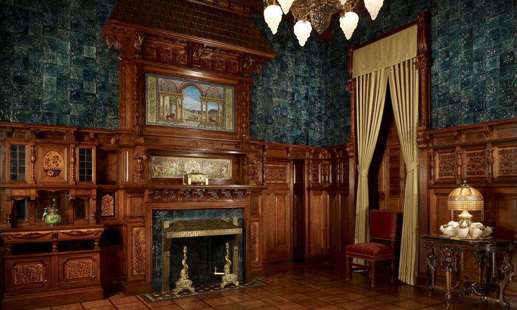 The Reception Room (Now) - Photograph by Steve Hall of Hedrich Blessing