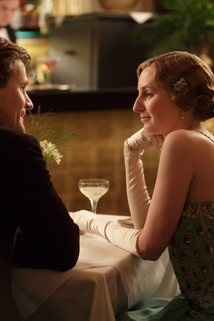 Lady Edith dines alone with a married man