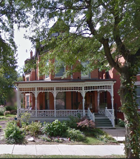 The FIsher's 1885 residence