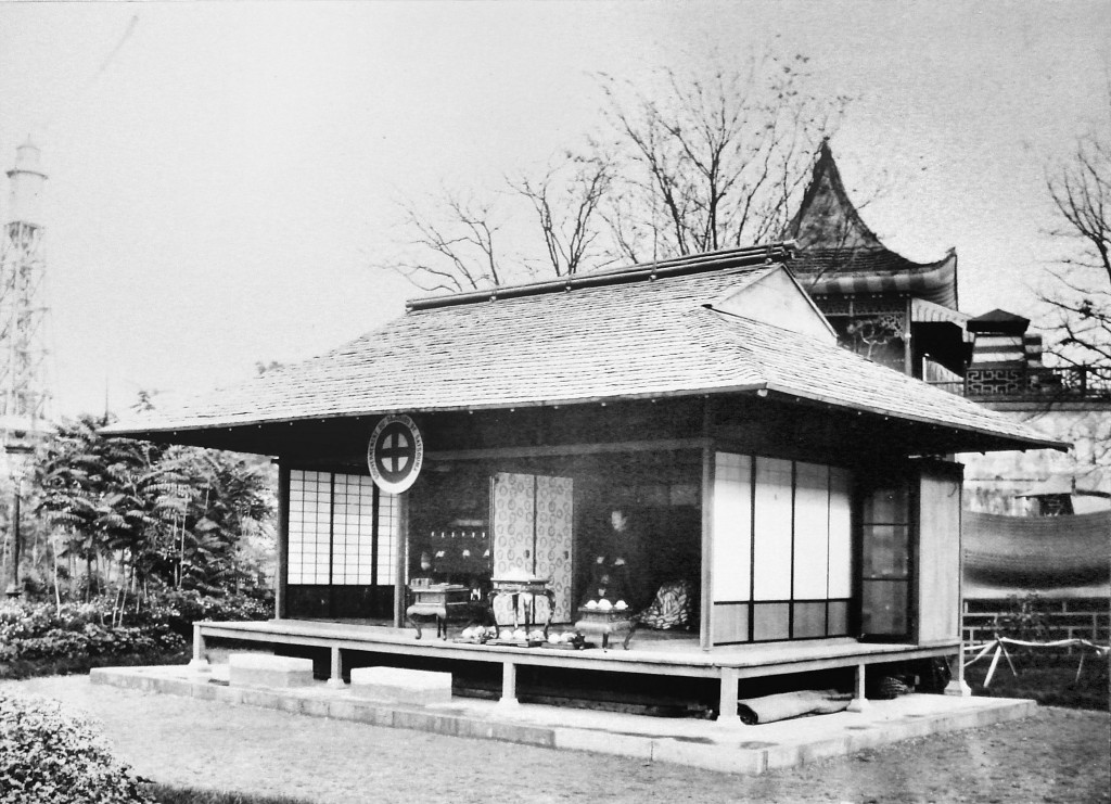 Japanese Satsuma Pavilion at the 1867 International Exposition in Paris.