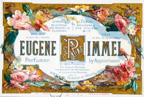 Card for Eugène Rimmel