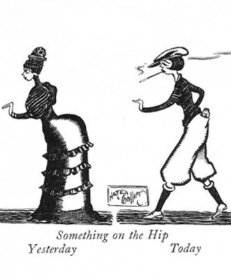 flapper cartoon