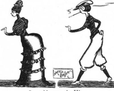 flapper cartoon