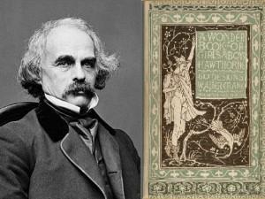 A portrait of Nathaniel Hawthorne