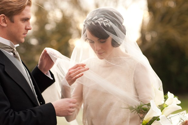 Lady Mary marries Matthew
