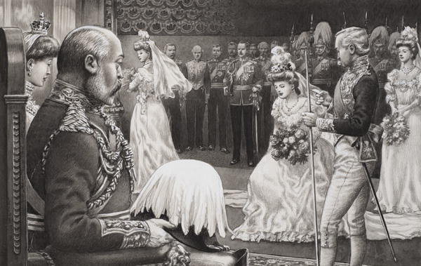 Edward VII and Queen Alexandra