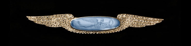 Mrs. W.H. (Elinor) Klapp (American, 1845-1915), Brooch, c. 1895-1914. Collection of the Bronson Family