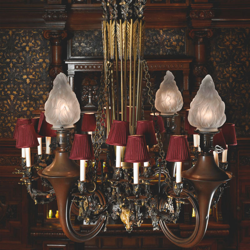 Twenty-Four Light Chandelier