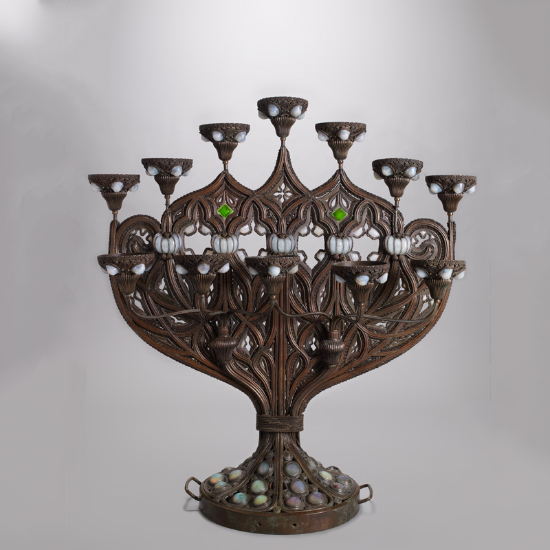 Object of the Month: Tiffany Glass and Decorating Company, Benedictine Candelabrum, 1893