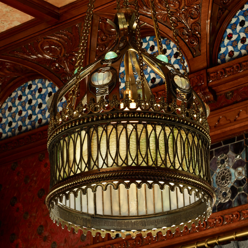 Object of the Month: Gothic Style Memorial Chandelier