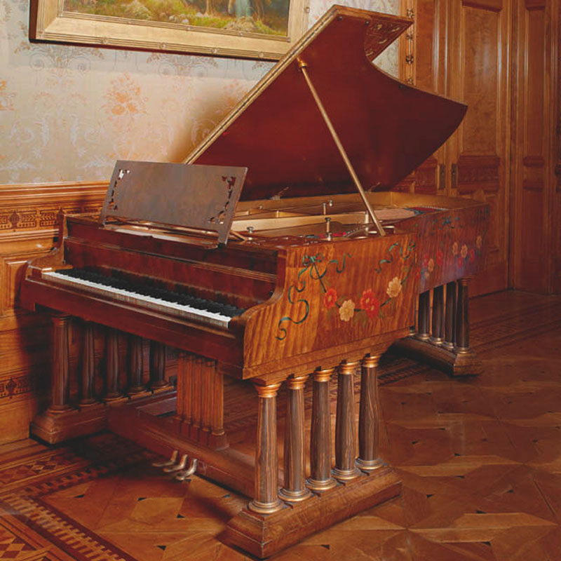 Object of the Month: Chickering and Sons Grand Piano