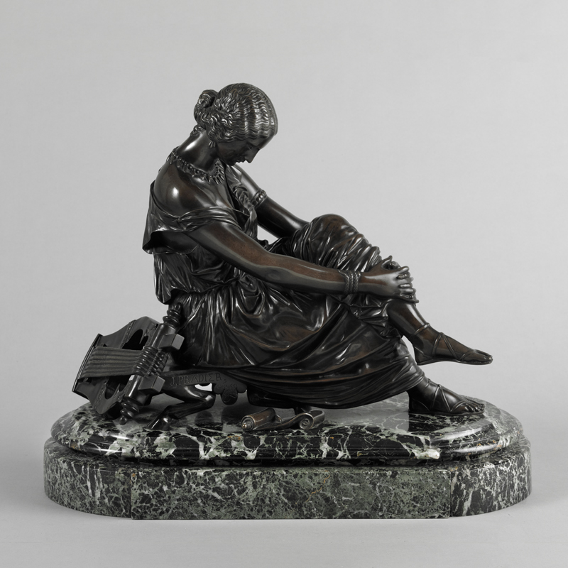 Object of the Month: James Pradier Sappho Sculpture