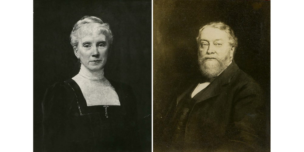 Matilda Nickerson (left), Samuel Nickerson (right)