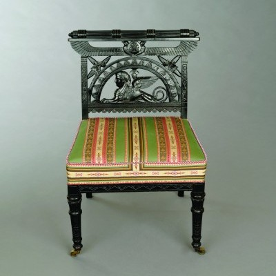 4. Egytian Revival Side Chair-Potier & Stymus
